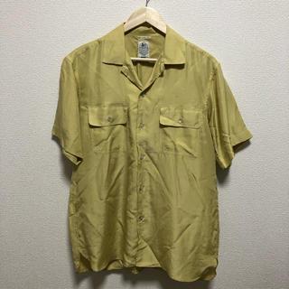 レイジブルー(RAGEBLUE)のオープンカラーシャツ イエロー M(シャツ)