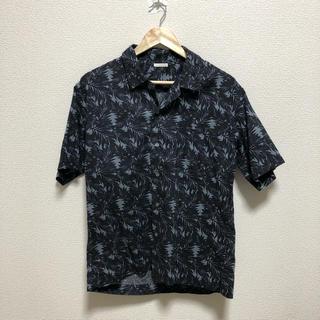 ジーユー(GU)のGU オープンカラーシャツ アロハシャツ M(シャツ)