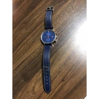 ノット(KNOT)のknot ノット アナログ腕時計 メンズ腕時計 ブルー(腕時計(アナログ))