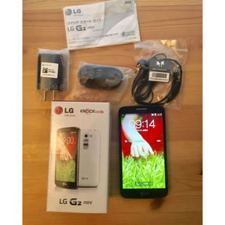 エルジーエレクトロニクス(LG Electronics)のスマホ アンドロイド LG G2 mini simフリー ドコモ、ソフトバンク(スマートフォン本体)