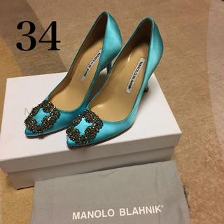 マノロブラニク(MANOLO BLAHNIK)のKarin3030様専用 Manolo Blahnik 34 マノロ ブラニク (ハイヒール/パンプス)