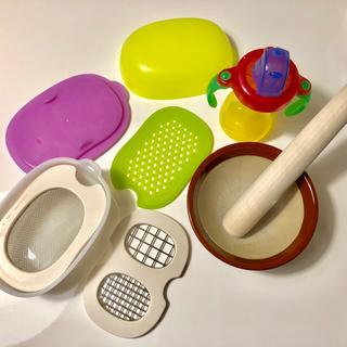 コンビ(combi)の(美品) コンビ離乳食 調理セット🥣✨(離乳食調理器具)