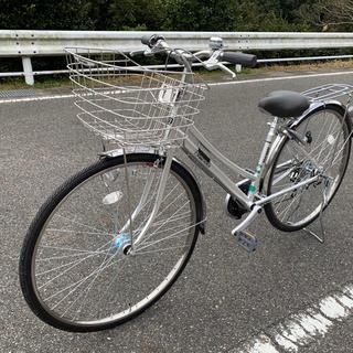 新品未使用27インチ6段変速フリーパワー搭載自転車(自転車本体)