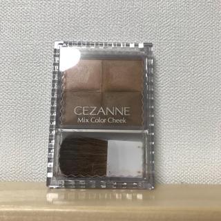 セザンヌケショウヒン(CEZANNE(セザンヌ化粧品))のミックスチークカラー@セザンヌ(チーク)