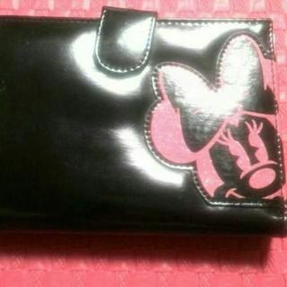 ディズニー(Disney)のお値下げしました❗ミニーちゃんの折財布ガマ口つきです(*^^*)(財布)