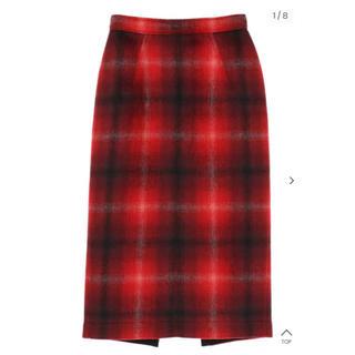 ヌメロヴェントゥーノ(N°21)のN°21 ヌメロチェックタイトスカート(ひざ丈スカート)