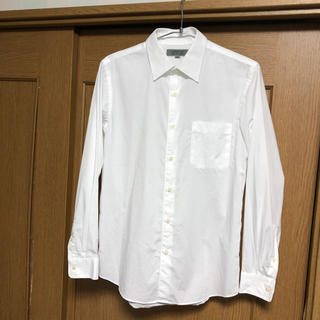 ユニクロ(UNIQLO)のユニクロ ストレッチ スリムフィット シャツ M UNIQLO 古着 中古品(シャツ)