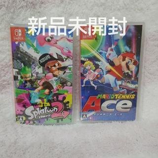 ニンテンドースイッチ(Nintendo Switch)のスプラトゥーン2  マリオテニスエース(家庭用ゲームソフト)