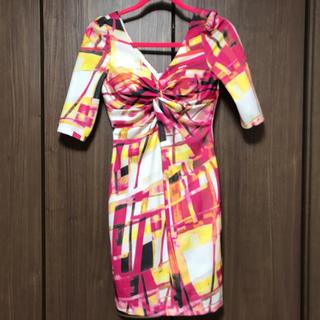 ジュエルズ(JEWELS)の☆美品☆ 胸元 クロスデザイン ワンピース ドレス(ナイトドレス)