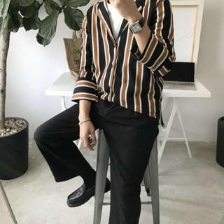 ■XLサイズ ユニセックス ドルマンシャツ オーバーサイズ ボレロ  チェック(Tシャツ/カットソー(七分/長袖))