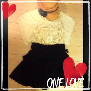 ニーナミュウ(Nina mew)の美品*nina mewレース付きスカート(ミニスカート)