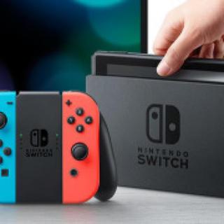ニンテンドースイッチ(Nintendo Switch)の新品未使用 ニンテンドースイッチ 送料無料 ネオンブルーネオンレッド4個,(家庭用ゲーム本体)
