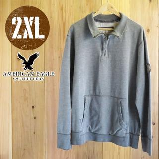 アメリカンイーグル(American Eagle)のLST60/XXLサイズ/アメリカンイーグル スウェット シャツ(スウェット)