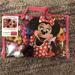 ディズニー(Disney)の新品未開封 ミニー 実写 レジャーシート(その他)