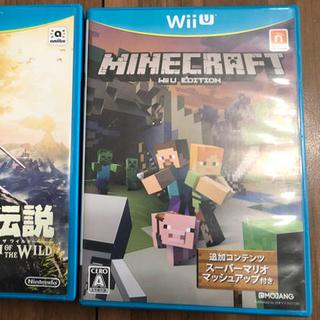 ウィーユー(Wii U)のwiiu ゼルダの伝説 Minecraft マイクラ(家庭用ゲームソフト)