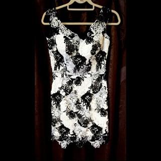 レースタイトミニドレス(ナイトドレス)