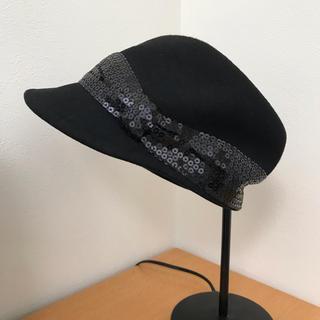 インディヴィ(INDIVI)のINDIVI レディース ハット 帽子 57cm(ハット)