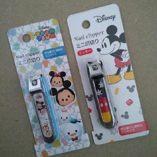 ディズニー(Disney)のミッキー爪切り2個セット(爪切り)