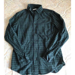 ジーユー(GU)のGUチェックシャツS(Tシャツ/カットソー(七分/長袖))