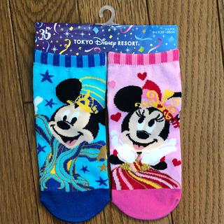 ディズニー(Disney)のディズニー 35周年 靴下(ソックス)