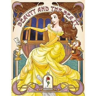 ディズニー(Disney)のN6 ベル☆美女と野獣☆アートパネル☆ディズニープリンセス(その他)