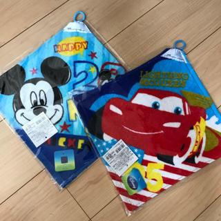 ディズニー(Disney)のディズニー☆ループ付きタオル 新品‼️(タオル)