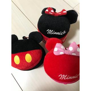 ディズニー(Disney)のミッキー & ミニー 小物入れ(キャラクターグッズ)