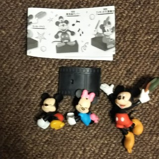 ディズニー(Disney)のディズニー ミッキーマウス ガチャガチャ(キャラクターグッズ)