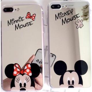 ディズニー(Disney)のミッキー ミニー iPhone7 8 スマホケース(iPhoneケース)