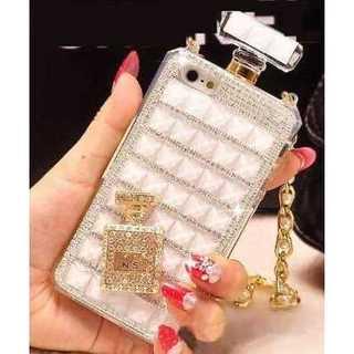 iPhone7 香水ボトル風 スマホケース ホワイト(iPhoneケース)