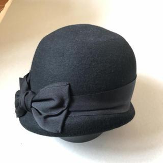 カシラ(CA4LA)のカシラ リボン付き 帽子 (ハット)