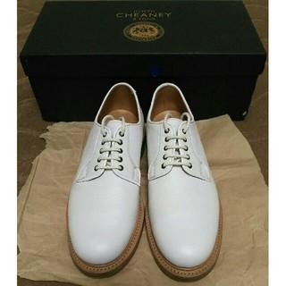 チーニー(CHEANEY)のCheaney TEIGN II White Grain UK6.5(ドレス/ビジネス)