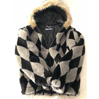 シュプリーム(Supreme)のSupreme Diamond Faux Fur Jacket(毛皮/ファーコート)
