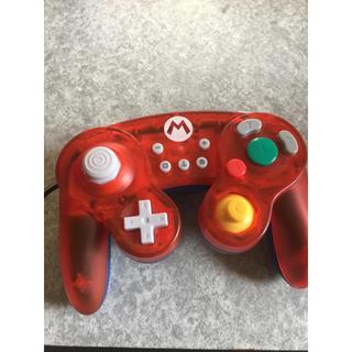 ニンテンドースイッチ(Nintendo Switch)のホリ クラシックコントローラー マリオver.(その他)