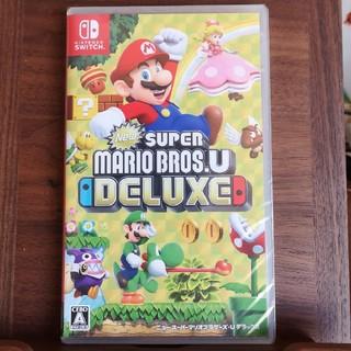 ニンテンドースイッチ(Nintendo Switch)のマリオ デラックス 本日発送!!(携帯用ゲームソフト)