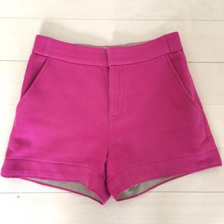 ダブルスタンダードクロージング(DOUBLE STANDARD CLOTHING)のダブルスタンダードクロージング sov. ショートパンツ 36 ピンク ダブスタ(ショートパンツ)
