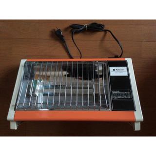 パナソニック(Panasonic)のナショナルパナソニック電気ストーブ300600w昭和レトロ家具雑貨オレンジヒータ(電気ヒーター)