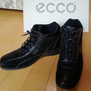 エコー(ECHO)のりんりこりんさん専用  ecco,エコーのソフトブーツ 24,0㎝(ブーツ)