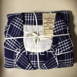 無印良品脇に縫い目のないフランネルパジャマ(その他)