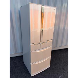 パナソニック(Panasonic)のパナソニック エコナビ ナノイー搭載 冷凍冷蔵庫 自動製氷 6ドア 470L(冷蔵庫)