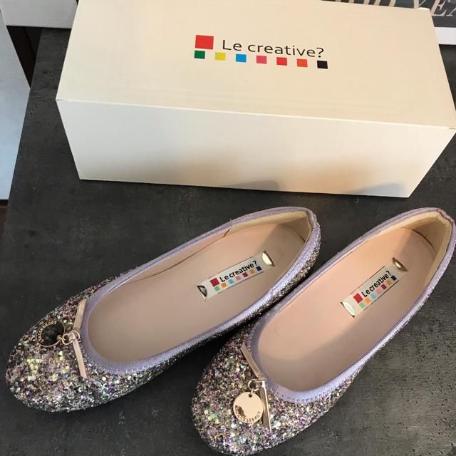 repetto(レペット)のLe creative? バレエシューズ 22cm キッズ/ベビー/マタニティのキッズ靴/シューズ (15cm~)(フォーマルシューズ)の商品写真