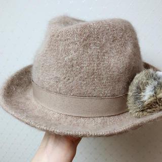 ランバンオンブルー(LANVIN en Bleu)のランバンオンブルー  帽子(ハット)