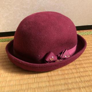 リズリサ(LIZ LISA)の帽子 リズリサ アンクルージュ スワンキス ハニーシナモン axes(ハット)