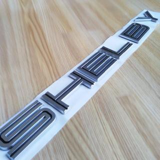 フォード マスタング シェルビー SHELBY ロゴ 3Dエンブレム(車外アクセサリ)