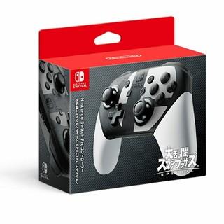 ニンテンドースイッチ(Nintendo Switch)のニンテンドースイッチproコントローラー スマブラエディション(その他)
