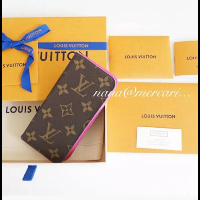 LOUIS VUITTON - 新品未使用♡ルイヴィトン  iphone7 iphone8 ケース 正規品 の通販 by なな♡'s shop|ルイヴィトンならラクマ