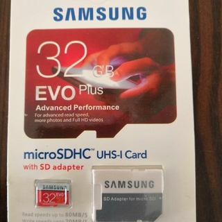 SAMSUNG microSDHCカード 32GB UHI-I Card 新品(その他)