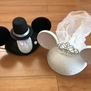 ディズニー(Disney)のイヤーハット☆ブライダル(ハット)