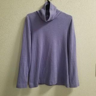 ユニクロ(UNIQLO)のユニクロフリースパープル(Tシャツ(長袖/七分))