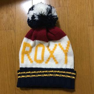 Roxy - ROXY ボンボン付きニット帽